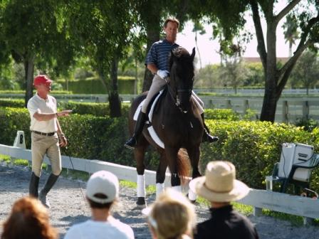Horse and Rider w/ trainer